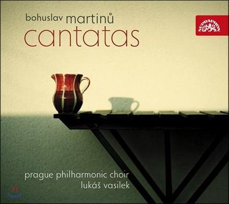 Prague Philharmonic Choir / Lukas Vasilek 마르티누: 칸타타 '봄의 시작', '민들레의 로맨스' 외 (Martinu: Cantatas) 루카스 바실레크, 프라하 필하모니 합창단