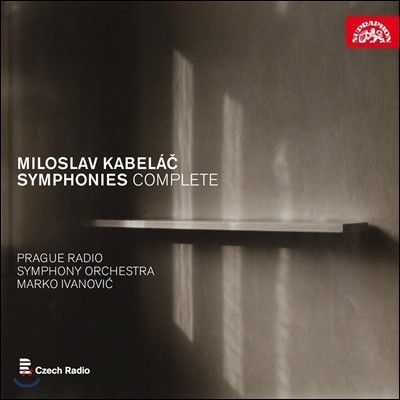 Marko Ivanovic 카벨라츠: 교향곡 전곡 1-8번 (Miloslav Kabelac: Complete Symphonies) 마르코 이바노비츠, 프라하 라디오 심포니 오케스트라