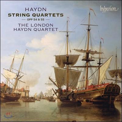 The London Haydn Quartet 하이든: 현악 사중주 (Haydn: String Quartets Op.54 & Op.55) 런던 하이든 콰르텟