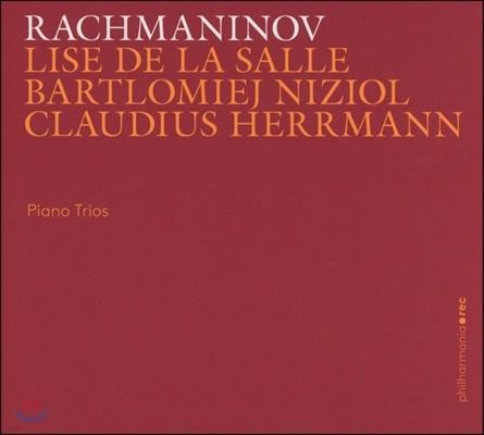 Lise de la Salle / Claudius Herrmann 라흐마니노프: 피아노 삼중주 1, 2번 (Rachmaninov: Piano Trios) 리즈 드 라 살, 바르틀로메예 니치올, 클라우디우스 헤르만