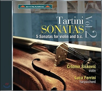 Crtomir Siskovic / Luca Ferrini 주세페 타르티니: 바이올린 소나타 2집 (Giuseppe Tartini: Sonatas For Violin And B.C. Vol.2)