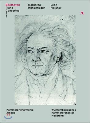 Margarita Hohenrieder / Leon Fleisher 베토벤: 피아노 협주곡 2번, 3번 (Beethoven: Piano Concertos Op.19, Op.37) 마르가리타 회헨리더, 레온 플라이셔