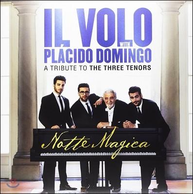 Il Volo / Placido Domingo 일 볼로와 플라시도 도밍고의 노테 마지카 - 쓰리 테너 헌정음반 (Notte Magica - A Tribute to the Three Tenors) [2LP]