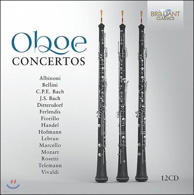 오보에 협주곡 작품집 - 알비노니 / 벨리니 / 바흐 / 헨델 / 모차르트 / 텔레만 외 (Oboe Concertos: Albinoni / Bellini / C.P.E. & J.S. Bach / Handel / Mozart / Telemann)
