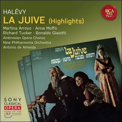 Antonio de Almeida / Martina Arroyo 알레비: 유대 여인 - 하일라이트 (Fromental Halevy: La Juive - Highlights) 마르티나 아로요, 안나 모포, 안토니오 데 알메이다
