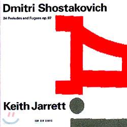 Keith Jarrett 쇼스타코비치 : 24개의 전주곡과 푸가 (Shostakovich : 24 Preludes and Fugues Op.87)
