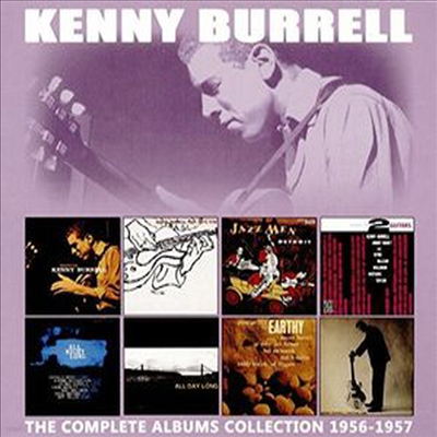 Kenny Burrell - Complete 8 Albums Collection 1956-1957 (Remastered)(4CD Set)