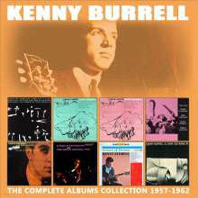 Kenny Burrell - Complete 8 Albums Collection 1957-1962 (Remastered)(4CD Set)