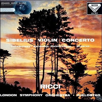 Ruggiero Ricci 시벨리우스 : 바이올린 협주곡 / 차이코프스키: 우울한 세레나데 (Sibelius: Violin Concerto / Tchaikovsky: Serenade Melancolique)