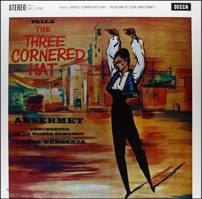 Ernest Ansermet 파야: 삼각 모자 (Falla: The Three Cornered Hat) [LP]
