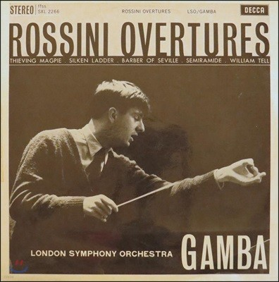 Pierino Gamba 로시니: 서곡집 (Rossini: Overture) [LP]