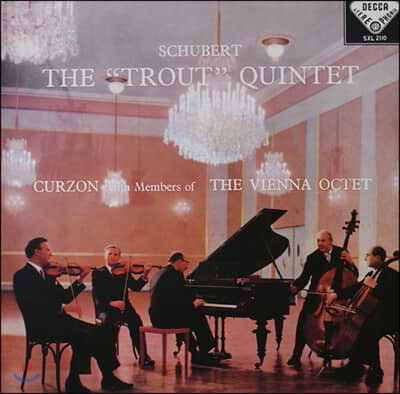 Clifford Curzon / Members Of Vienna Octet 슈베르트: 현악 5중주 `송어` (Schubert: `Trout ` Quintet) [LP]