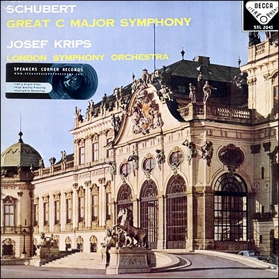 Josef Krips 슈베르트 : 교향곡 9번 (Schubert: Symphony No.9 `The Great`)