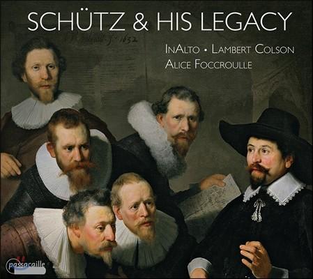 Alice Foccroulle 쉬츠와 그의 유산 (Schutz & His Legacy) 알리스 포크루유, 랑베르 콜송, 인알토
