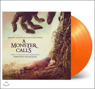 몬스터 콜 영화음악 (A Monster Calls OST by Fernando Velazquez) [오렌지 & 옐로우 믹스 컬러 2LP]