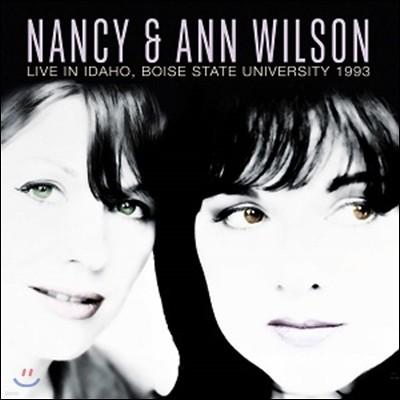 Nancy & Ann Wilson (낸시 앤 앤 윌슨) - Live In Idaho, Boise State University 1993