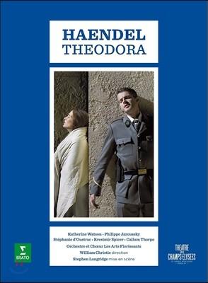 Philippe Jaroussky / William Christie 헨델: 오페라 '테오도라' (Handel: Theodora) 필립 자루스키, 캐서린 왓슨, 윌리엄 크리스티, 레자르 플로리상