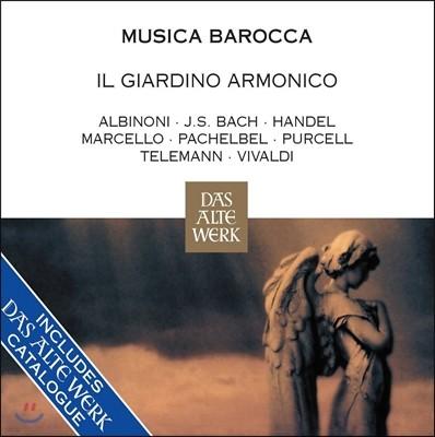 Il Giardino Armonico 무지카 바로카 - 바로크 음악 베스트: 알비노니 / 바흐 / 헨델 / 파헬벨 / 텔레만 / 비발디 외 (Musica Barocca - Albinoni / J.S. Bach / Handel / Pachelbel / Vivaldi)