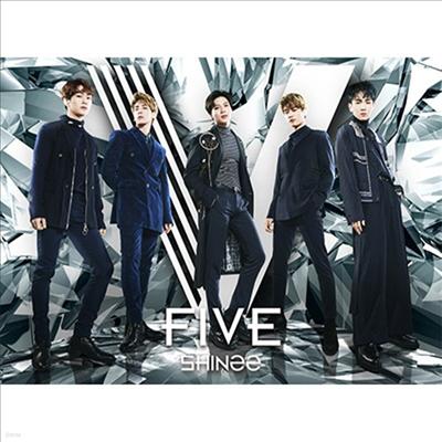 샤이니 (SHINee) - Five (CD+Blu-ray+48P Photo Booklet) (초회한정반 A)
