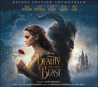 미녀와 야수 디즈니 영화음악 (Beauty and the Beast 2017 OST by Alan Menken 앨런 멘켄) [2CD 디럭스 에디션 한정반]