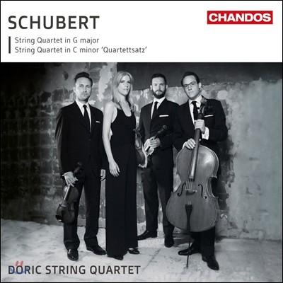 Doric String Quartet 슈베르트: 현악 사중주 12 & 15번 (Schubert: String Quartet D.703 'Quartettsats', Op.post. 161 D.887) 도릭 스트링 콰르텟
