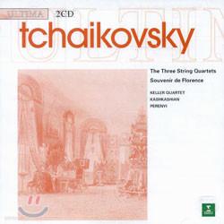 Tchaikovsky : Quartet No.1-3 & Souvenir De Florence : Keller