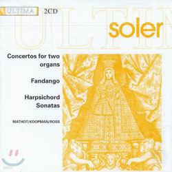 Soler : Concerto For 2 OrgansㆍSonata : MathotㆍKoopmanㆍRoss