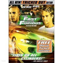 [DVD] The Fast And The Furious - 분노의 질주 (미개봉)