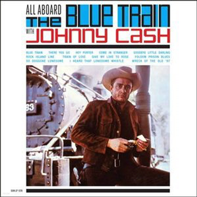 Johnny Cash - All Aboard The Blue Train With Johnny Cash (LP)