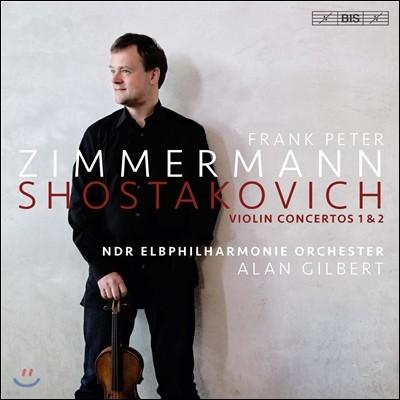 Frank Peter Zimmermann 쇼스타코비치: 바이올린 협주곡 1 & 2번 (Shostakovich: Violin Concertos Op.77 & Op.129) 프랑크 페터 침머만, 앨런 길버트