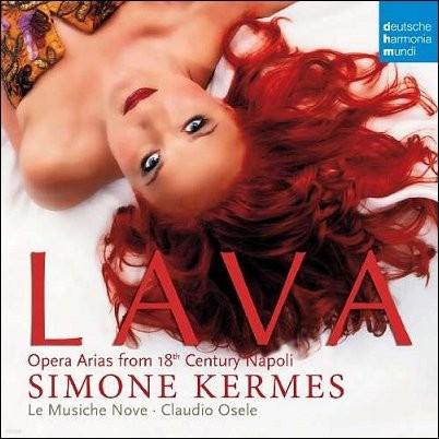 Simone Kermes 18세기 나폴리의 오페라 아리아 (Lava) 시모네 케르메스 [LP]