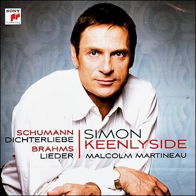 Simon Keenlyside 슈만: 시인의 사랑 / 브람스: 가곡집 (Schumann : Dichterliebe / Brahms : Lieder) 사이먼 킨리사이드