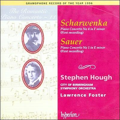 낭만주의 피아노 협주곡 11집 - 샤르벤카 / 자우어 (The Romantic Piano Concerto 11 - Scharwenka / Sauer) Stephen Hough