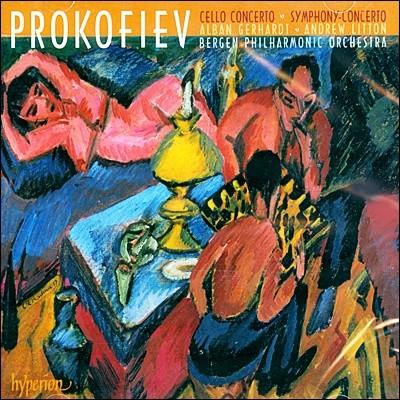 Alban Gerhardt 프로코피에프: 첼로 협주곡 1번, 교향적 협주곡 (Prokofiev: Cello Concertono.1 Op.58, Symphony Concerto Op.125)