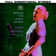 June Christy - Ballads For Night People