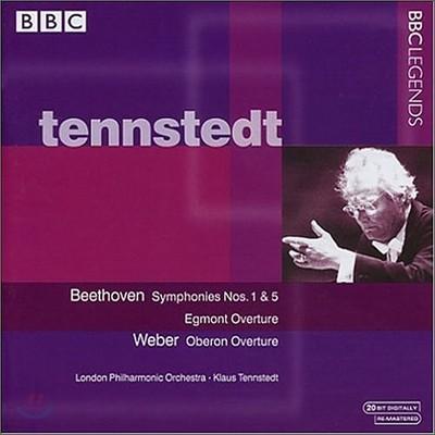 베토벤 : 교향곡 1 & 5번 - 클라우스 텐슈테트
