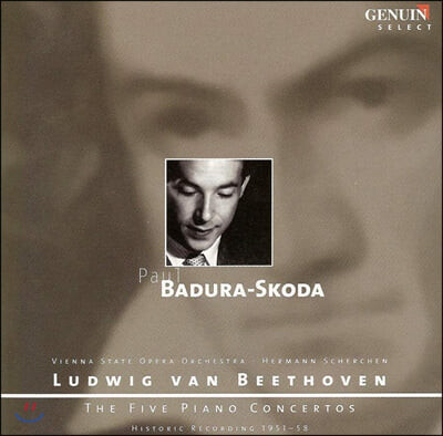 Paul Badura-Skoda 파울 바두라-스코다 에디션 - 베토벤: 피아노 협주곡 1-5번 (Beethoven: The Five Piano Concertos)