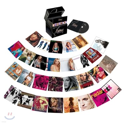 Britney Spears - The Singles Collection (Deluxe Edition / Box Set)
