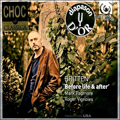Mark Padmore 브리튼 : 가곡집 (Britten : Before Life & After)