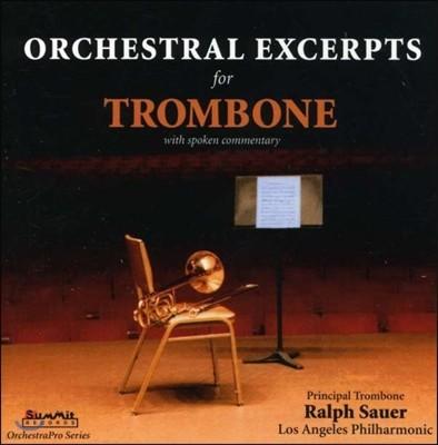 Ralph Sauer 오케스트라 악기 발췌 시리즈 - 트롬본 1집 (ORCH PRO - Trombone I) 랄프 사우어