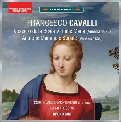 Bruno Gini 카발리: 성모의 저녁기도, 마리아 안티폰과 소나타 (Francesco Cavalli: Vespero della Beata Vergine, Antifone Mariane e Sonate) 라 피파레스카, 브루노 지니