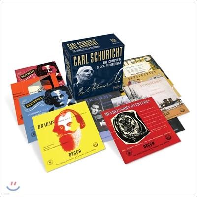 Carl Schuricht 카를 슈리히트 데카 녹음 전집 (The Complete Decca Recordings) [오리지널 커버 10CD 박스세트]