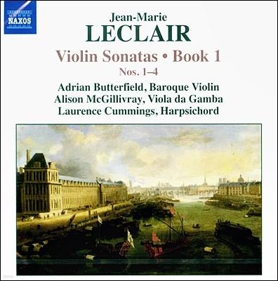 Adrian Butterfield 장-마리 르클레르: 바이올린 소나타 1권 - 1-4번 (Jean-Marie Leclair: Violin Sonatas Book 1 Nos.1-4)