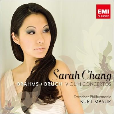 브람스 / 브루흐 : 바이올린 협주곡 1번 - 사라 장 (장영주)