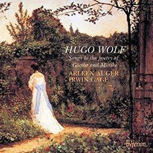 Arleen Auger, Irwin Gage / Wolf : Songs to the poetry of Goethe & Morike (수입/CDA66590)