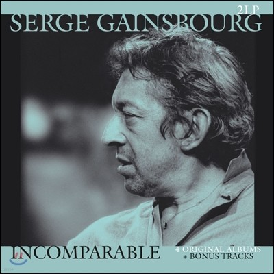 Serge Gainsbourg (세르쥬 갱스부르) - Incomparable [2LP]