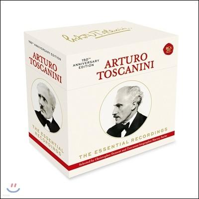 아르투로 토스카니니 에센셜 레코딩 - 150주년 기념 에디션 한정반 박스세트 (Arturo Toscanini - The Essential Recordings - 150th Anniversary Edition)