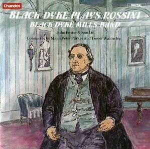 Black Dyke Band / Black Dyke plays Rossini (수입/CHAN8435)