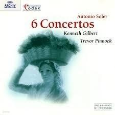 Kenneth Gilbert, Trevor Pinnock / Soler : 6 Concertos (수입/4531712)