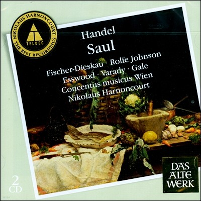 Nikolaus Harnoncourt 헨델: 오라토리오 `사울` (Handel: Saul) 아르농쿠르